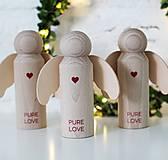 Dekorácie - ANJELIK PURE LOVE - 10066947_