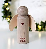 Dekorácie - ANJELIK PURE LOVE - 10066988_