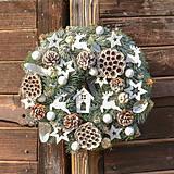 - Vianočný veniec na dvere - 10066340_