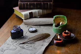 Drobnosti - pierko na písanie - brko na písanie - 10069590_
