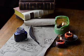 Drobnosti - pierko na písanie - brko na písanie - 10069782_