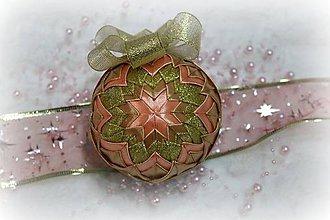 Dekorácie - Vianočná guľa 14 - 10066008_
