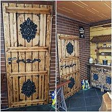 Nábytok - Rustikalne dvere - 10066074_