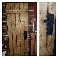 Nábytok - Rustikalne stodolove dvere - 10066081_