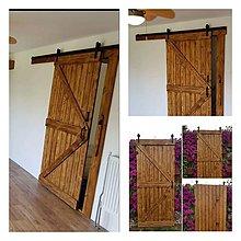 Nábytok - Posuvne stodolove dvere - 10066126_