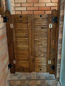 Nábytok - Rustikalne dvere lietačky - 10066252_