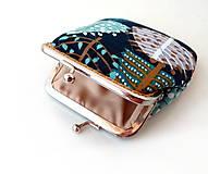 Peňaženky - Peňaženka Grafické stromy - M - 10067120_