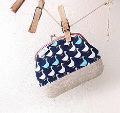 Peňaženky - Peňaženka XL Husičky - 10066114_