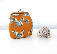 Peňaženky - Peňaženka Folk vtáčiky - M - 10067102_