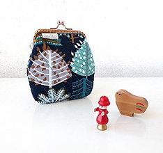 Peňaženky - Peňaženka Grafické stromy - M - 10067119_