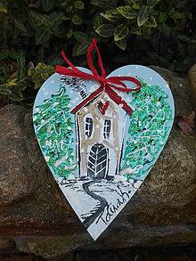 Dekorácie - Dom plný lásky - 10067615_