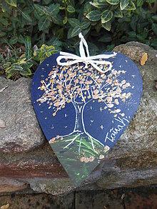 Dekorácie - Strom lásky a blahobytu - 10067698_