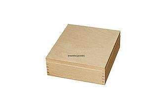 Polotovary - Krabica 9 priečinkov masív - 10066054_