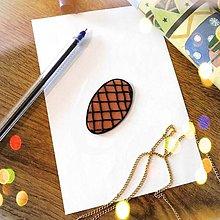 Magnetky - ★ Vianočná magnetka cartoon (šiška) - 10066079_