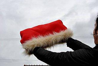 Textil - Rukávnik s kožušinkou - 10074666_