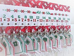 Dekorácie - Adventný kalendár - 10071163_