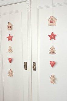 Dekorácie - Vianočná girlanda - 10072720_