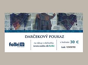 Darčekové poukážky - Darčekový poukaz - 10073826_
