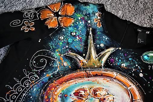 Maľované šaty ... lízanková princezná Ela II. ♥   zeiko - SAShE.sk ... b5456af5378