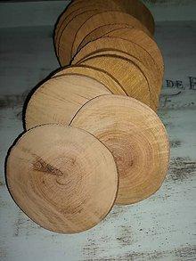 Materiál ručne robený - Drevené čerešňové kolieska - 10073833_