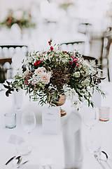 Dekorácie - Mámivá krása ... svadobná výzdoba - 10074311_
