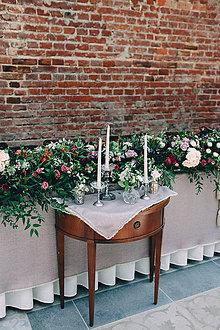Dekorácie - Mámivá krása ... svadobná výzdoba - 10074621_