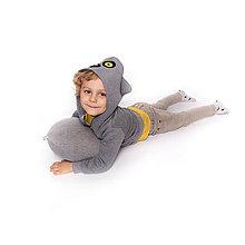 Detské oblečenie - Detská mikina Lemur - 10074817_