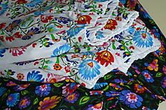 Sukne - Sukienka Krojové kvety pruhy - 10075295_