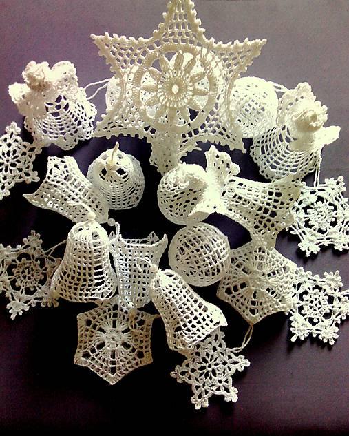 Háčkované vianočné ozdoby II   Erika1957 - SAShE.sk - Handmade Dekorácie 59ecd718034