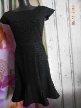 Šaty - Malé čierne kokteilové- spoločenské šaty AKCIA!!! - 10071493_