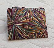 Taštičky - SAShEnka no. 174 - farebné kryštály -taštička do kabelky - 10074706_