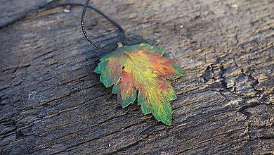 Náhrdelníky - Jesenný list - 10075450_