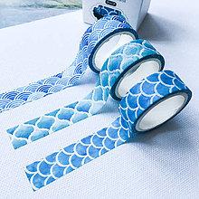 Papier - dekoračná papierová páska Morská sada - 10071394_
