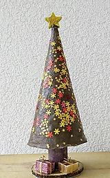 Dekorácie - Vianočný stromček- socha- dekorácia - 10073592_