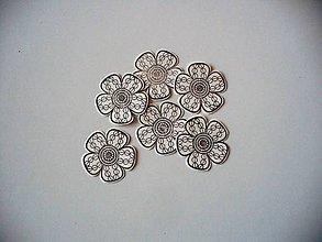 Papier - kvetinka (6ks) - 10070649_