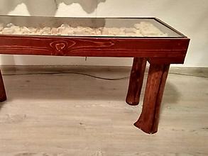 Nábytok - konferenčný stolík - 10074024_