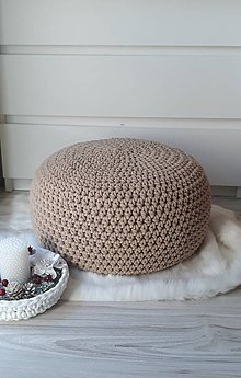 Úžitkový textil - Puf, taburetka, stolík - 10071967_
