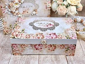 Krabičky - Svadobná truhlica - 10074364_