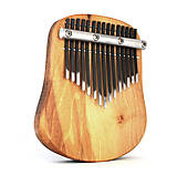 Hudobné nástroje - Tila - 15 tónová kalimba - diatonické ladenie - 10075421_