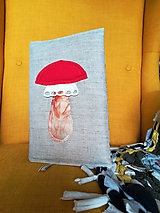Papiernictvo - Natur wrapper - obal na knihu Muchotrávka - 10073100_