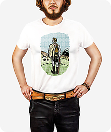 Tričká - Pánske tričko Strážca Východu - 10071565_