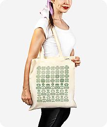 Nákupné tašky - Bavlnená taška Východ - 10071801_
