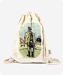 Batohy - Bavlnený vak Strážca Východu - 10071929_