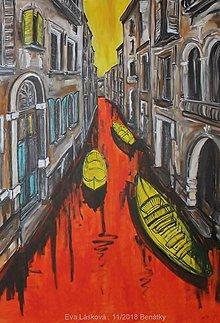 Obrazy - Benátky II - 10072263_