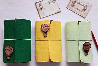 Papiernictvo - Diár 2021/Doplniteľný diár Softwille Pea s brošňou - 10071792_