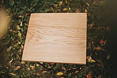 Nábytok - Štvorcový konferenčný stolík s čiernymi hairpin nožičkami - 10071675_
