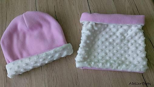 Zimný set čiapka + nákrčník   AtelierBetty - SAShE.sk - Handmade ... fcb09c2188