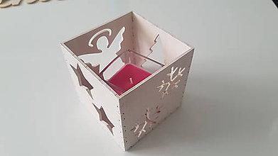 Svietidlá a sviečky - Svietnik- VIANOCE - 10072693_