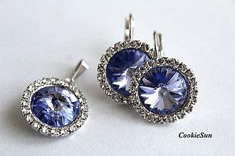 Sady šperkov - Set Crystal Diva Lavender - 10075465_