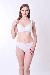 Bielizeň/Plavky - Podprsenka na dojčenie z bio bavlny - 10073648_